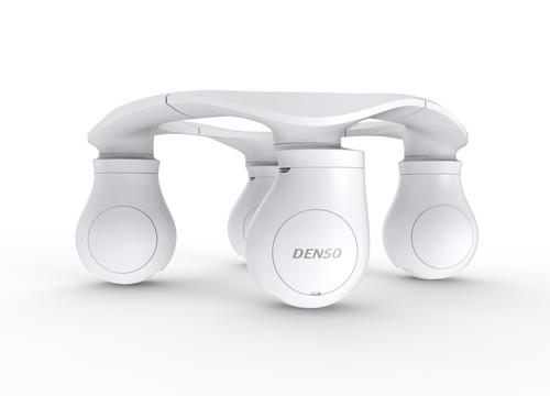 Denso showed off its X-mobility in-wheel motor system concept at the Ceatec 2014 tech expo outside Tokyo this week.