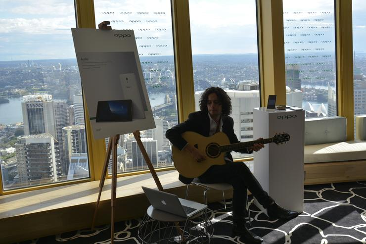 Oppo held its Australian soft launch at Centre Point Tower on September 2.