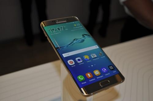 Samsung launched the Galaxy S6 edge+ at a New York event Thursday.