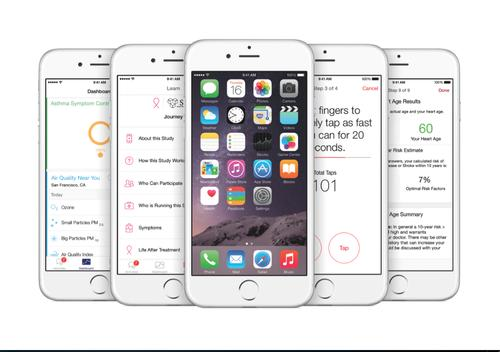 Apple's ResearchKit lets medical researchers collect health related data from iPhone owners and lets developers build health related apps.