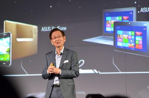 Asus Chairman Jonney Shih at Computex Monday