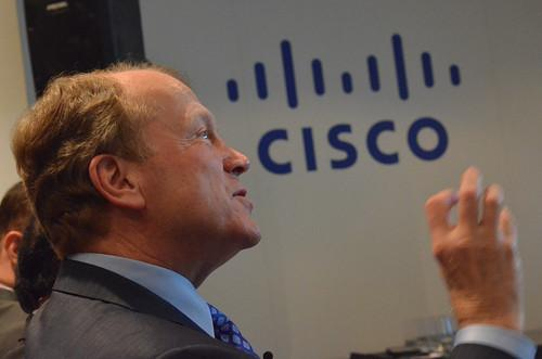 Cisco Systems Chairman and CEO John Chambers at Mobile World Congress 2015