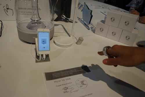 The Ring can let you remotely control your smartphone by making finger gestures.