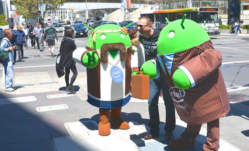 Android, in all forms, is a big part of Google I/O.