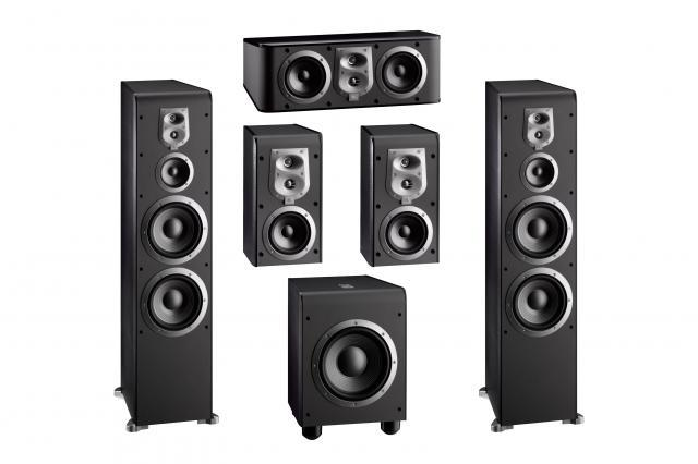 JBL ES900 Cinepack surround sound speakers: massive weight but excellent all-round sound
