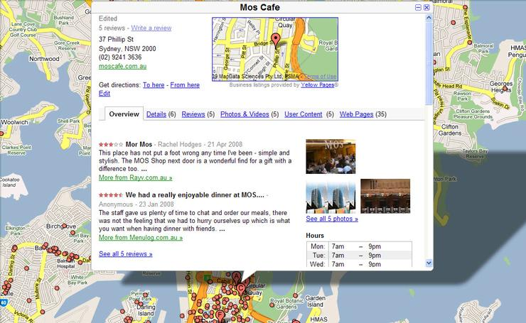 how to add shop to google map