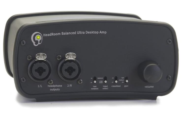 Headroom's Balanced Ultra Desktop Amplifier, or BUDA.