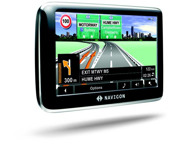 The Navigon 4250 is one of three new GPS navigation units launched in Australia by the German company.