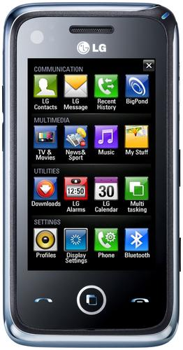 Telstra is the first mobile operator globally to launch LG's GM730f smartphone.