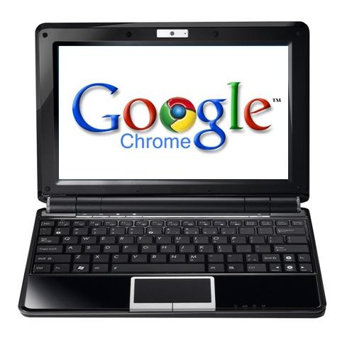 Google's Linux-based Chrome OS will be pre-installed on netbooks