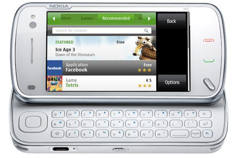 Nokia's N97 is one of the latest smartphones to feature a full QWERTY keyboard