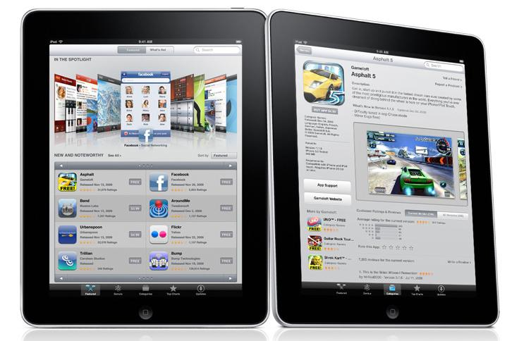 The App Store will be the only distribution method for games on Apple's iPad