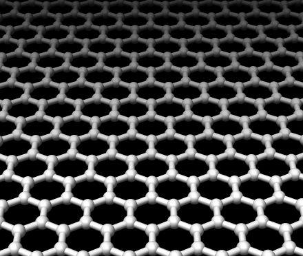 The molecular structure of graphene