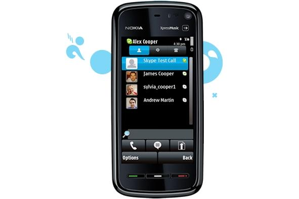 Skype for Symbian is compatible with most Nokia smartphones and will work over a 3G connection.