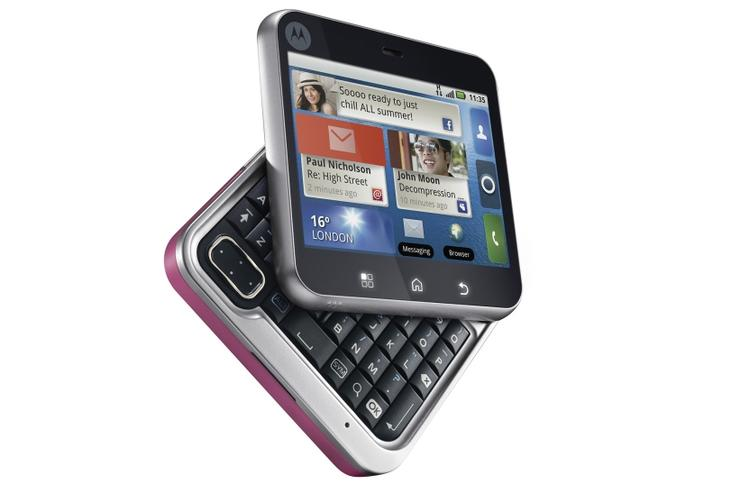 Motorola's Android-based Flipout mobile phone
