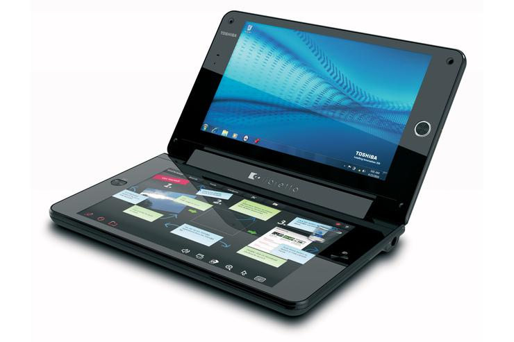 Toshiba today announced the Libretto W100, a next-gen ultra-mobile concept PC that provides a full Windows 7 experience to be enjoyed across two multi-touch touch screens