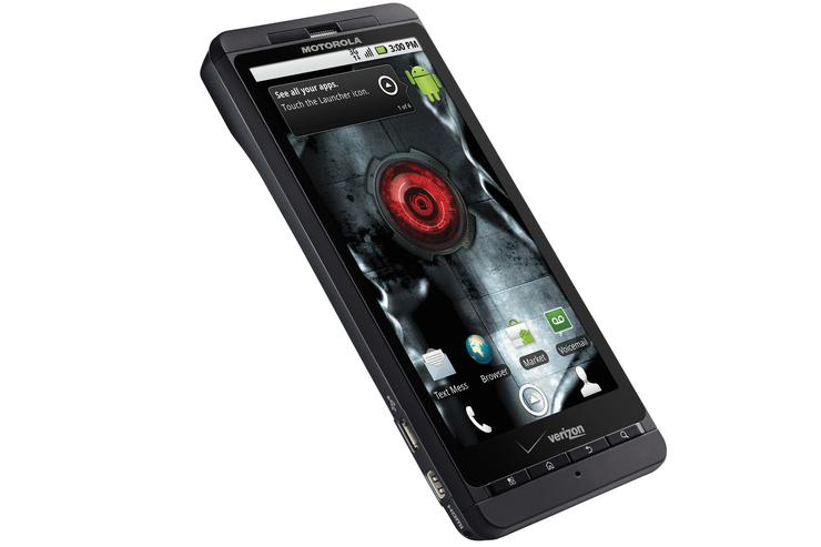 Motorola Droid X Android smartphone