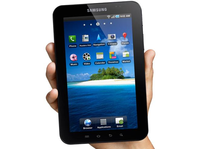Samsung's Galaxy Tab is set to challenge the Apple iPad.