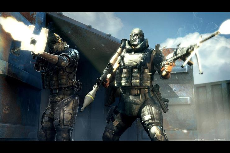 US training games are a huge departure from civilian titles like Army of Two -- often, the in-game weapons cannot be fired.