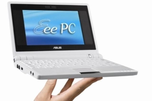 The ASUS Eee PC.