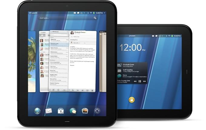 HP's TouchPad tablet