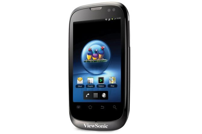 ViewSonic's V350: the world's first dual-SIM Android smartphone