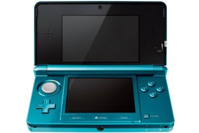 The Nintendo 3DS handheld games console.