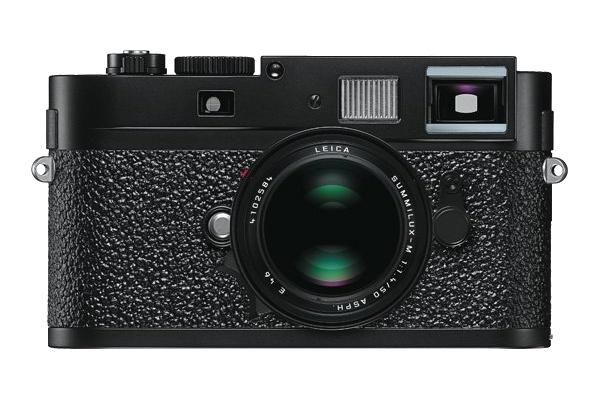 The new Leica M9-P in black.