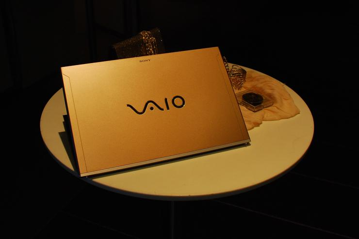 The Sony VAIO Z Series ultralight laptop.
