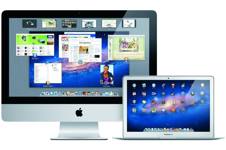 Apple's Mac OS X Lion.
