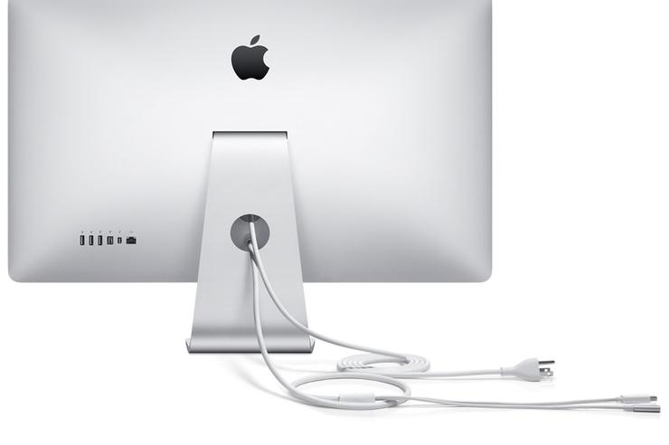 The new Apple Thunderbolt Display.
