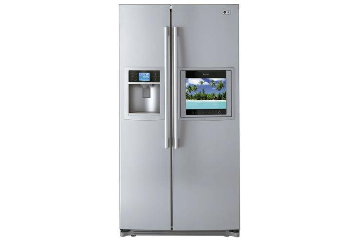 A high-end fridge from LG.