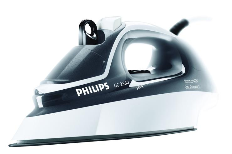 A Philips steam iron.