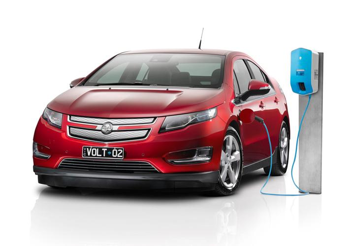 The Holden Volt long-range electric vehicle, available in November for $59,990.