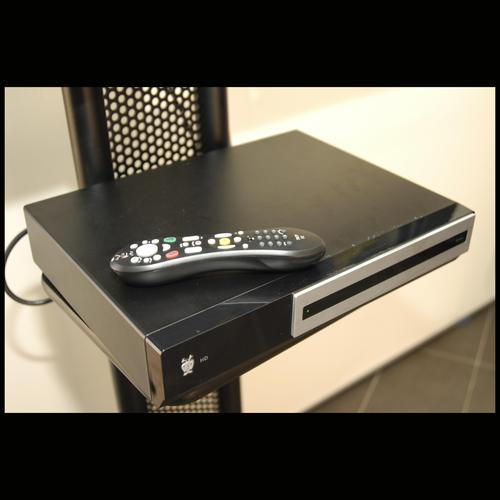 The TiVO HD box will be able to store at least 60 hours of standard-definition content and 20 hours of high-definition content.