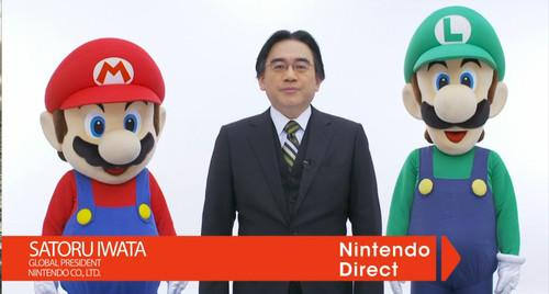 Nintendo President Satoru Iwata, seen here in a Nintendo Direct promotional image from 2013, died July 11, 2015, the company said.