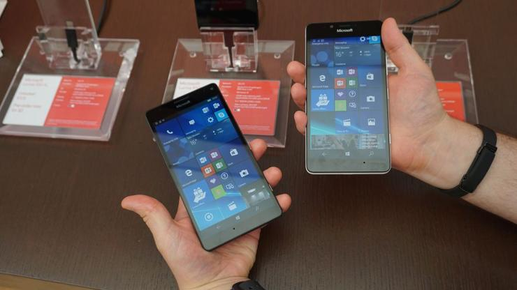 The Microsoft Lumia 950 and 950 XL