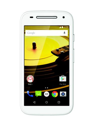 The new Moto E from Motorola has a 4.5-inch screen and LTE.