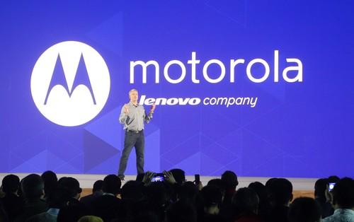 Lenovo re-introduced the Motorola brand to China last week.
