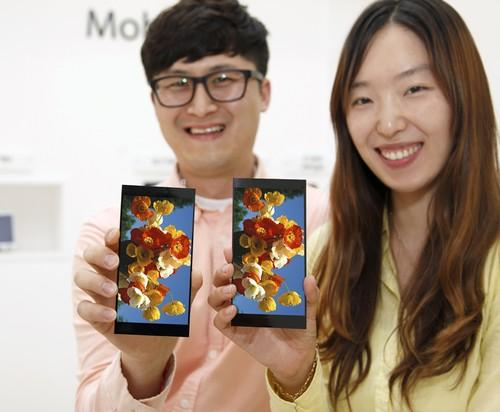 The G4 from LG will have an improved 5.5-inch, 1440 x 2560-pixel screen.