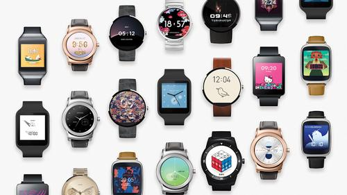 Android Wear received 17 new third-party watch faces on Monday, including designs from fashion designer Cynthia Rowley and cartoon brand Hello Kitty.