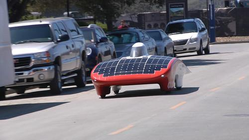 Stanford shows new solar car ahead of cross-Australia race