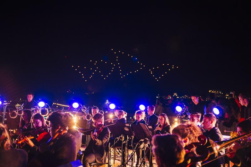 IN PICTURES: Intel's Drone 100 performance lights up Vivid Sydney (+37 photos)