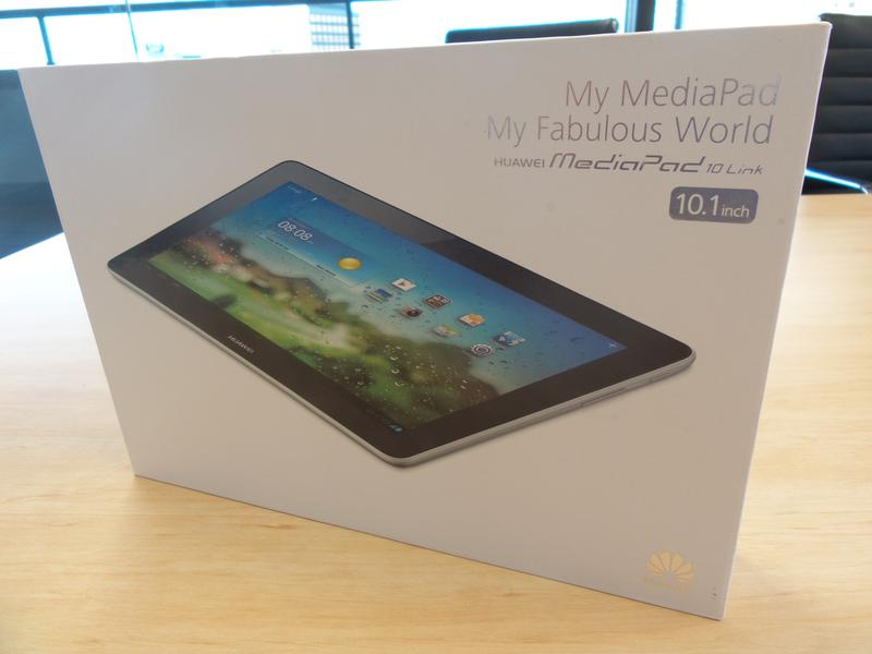 Hands-on with the Huawei MediaPad 10 Link 4G Android tablet