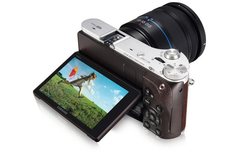 In pictures: Samsung's NX300 camera
