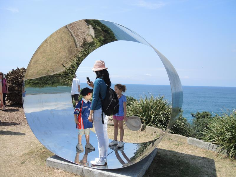 Photographing Sculpture by the Sea using auto mode
