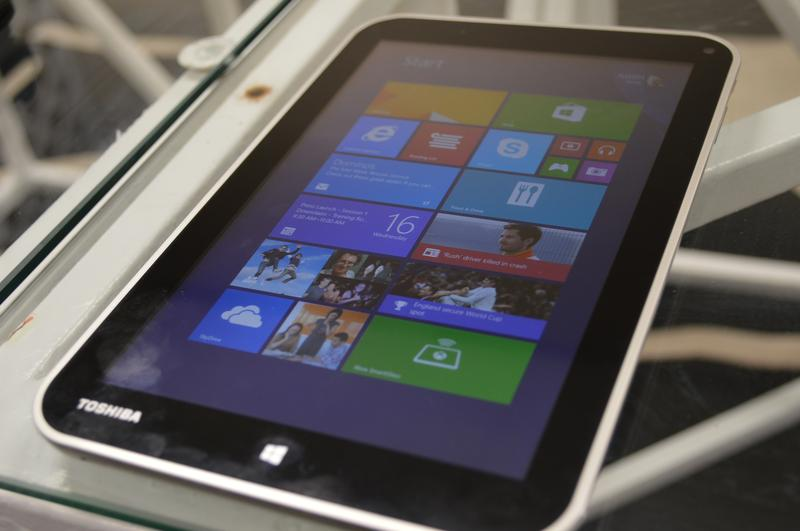 Toshiba releases Windows 8.1-based 8-inch Encore tablet (+23 photos)