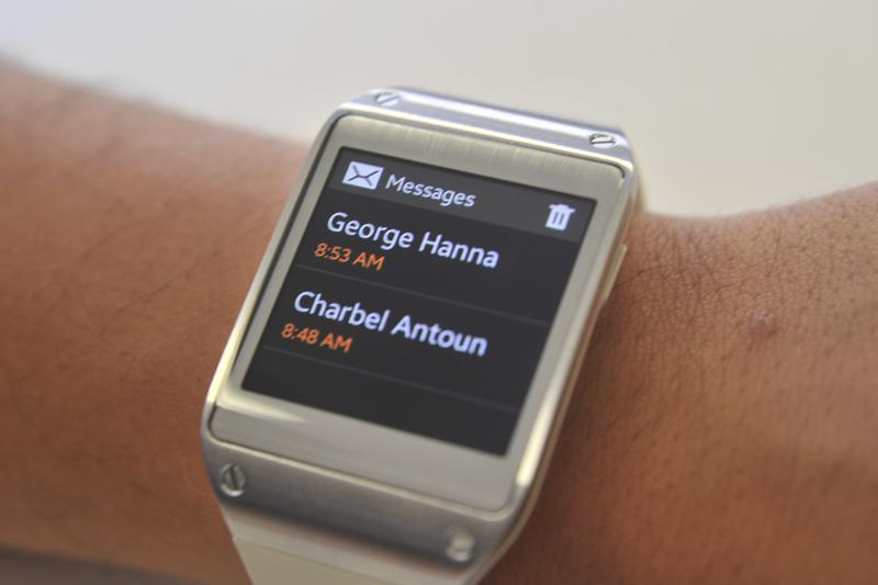 Has Samsung nailed the smartwatch with the Galaxy Gear?