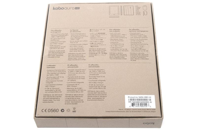 Unboxing the Kobo Aura HD