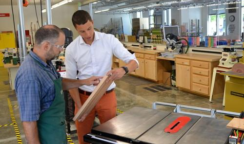 Facebook tells employees, 'build something' -- with a table saw